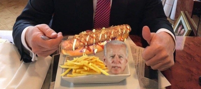 Gier: il invente le hot-dog Joe Biden !